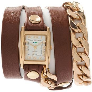 fashion наручные  женские часы La Mer LMSCW4001. Коллекция С цепочками и подвесками