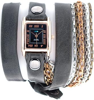 fashion наручные  женские часы La Mer LMSCW7000X. Коллекция С цепочками и подвесками