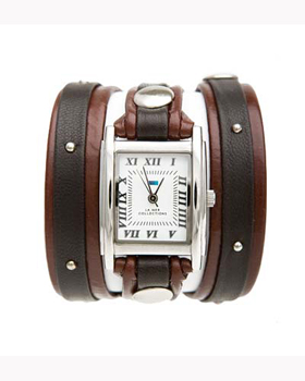 fashion наручные  женские часы La Mer LMSW1004. Коллекция С клепками