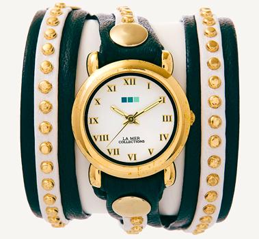 fashion наручные  женские часы La Mer LMSW3013. Коллекция С клепками
