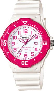 Японские наручные  женские часы Casio LRW-200H-4B. Коллекция Standard Analog