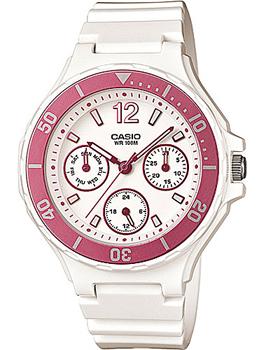 Японские наручные  женские часы Casio LRW-250H-4A. Коллекция Standart