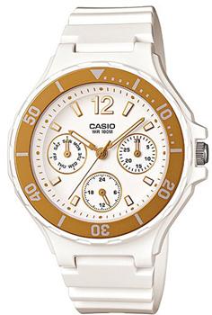 Японские наручные  женские часы Casio LRW-250H-9A1. Коллекция Standart