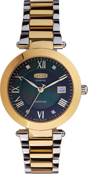 Швейцарские наручные  женские часы Taller LT691.4.122.13.2. Коллекция Muse