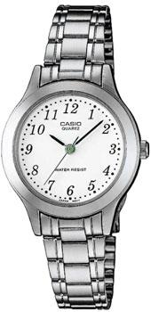 Японские наручные  женские часы Casio LTP-1128PA-7B. Коллекция Standard Analog