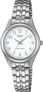 Японские наручные  женские часы Casio LTP-1129PA-7B. Коллекция Standard Analog