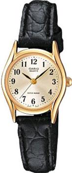 Японские наручные  женские часы Casio LTP-1154PQ-7B2. Коллекция Standard Analog