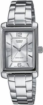 Японские наручные  женские часы Casio LTP-1234PD-7A. Коллекция Standard Analog