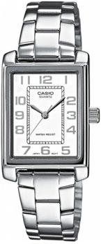 Японские наручные  женские часы Casio LTP-1234PD-7B. Коллекция Standard Analog