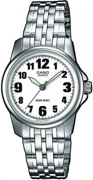 Японские наручные  женские часы Casio LTP-1260PD-7B. Коллекция Standard Analog
