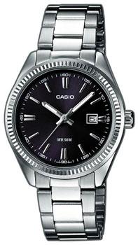 Японские наручные  женские часы Casio LTP-1302PD-1A1. Коллекция Standard Analog