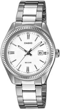 Японские наручные  женские часы Casio LTP-1302PD-7A1. Коллекция Standard Analog