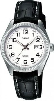 Японские наручные  женские часы Casio LTP-1302PL-7B. Коллекция Standard Analog