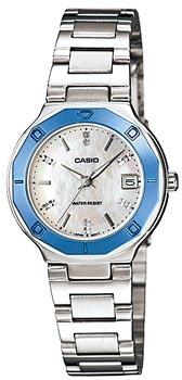 Японские наручные  женские часы Casio LTP-1366D-7A. Коллекция Standard Analog