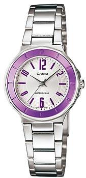 Японские наручные  женские часы Casio LTP-1367D-6A. Коллекция Standard Analog