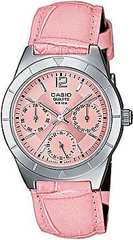 Японские наручные  женские часы Casio LTP-2069L-4A. Коллекция Metal Fashion