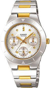 Японские наручные  женские часы Casio LTP-2083SG-7A. Коллекция Standard Analog
