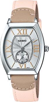 Японские наручные  женские часы Casio LTP-E114L-4A2. Коллекция Standard Analog