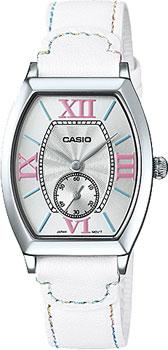 Японские наручные  женские часы Casio LTP-E114L-7A. Коллекция Standard Analog