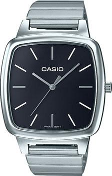 Японские наручные  женские часы Casio LTP-E117D-1A. Коллекция Standard Analog
