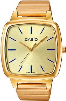 Японские наручные  женские часы Casio LTP-E117G-9A. Коллекция Standard Analog