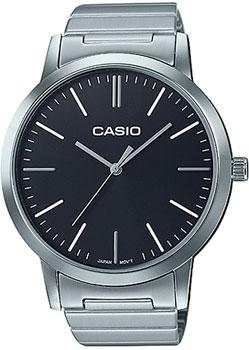 Японские наручные  женские часы Casio LTP-E118D-1A. Коллекция Standard Analog