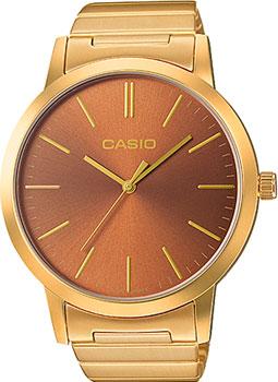 Японские наручные  женские часы Casio LTP-E118G-5A. Коллекция Standard Analog
