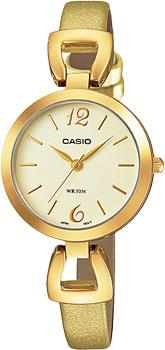 Японские наручные  женские часы Casio LTP-E402GL-9A. Коллекция Standard Analog