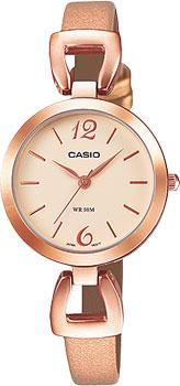 Японские наручные  женские часы Casio LTP-E402PL-9A. Коллекция Standard Analog