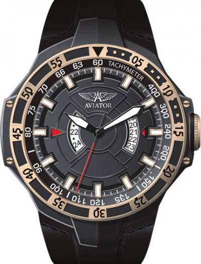 Мужские наручные швейцарские часы в коллекции Mig-29 GMT Aviator