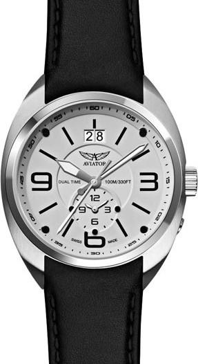 Мужские наручные швейцарские часы в коллекции Mig-21 Fishbed Aviator