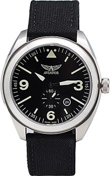 Швейцарские наручные  мужские часы Aviator M.1.10.0.060.7. Коллекция Mig-25 Foxbat