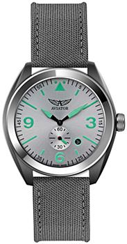 Швейцарские наручные  мужские часы Aviator M.1.10.0.061.7. Коллекция Mig-25 Foxbat
