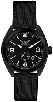 Швейцарские наручные  мужские часы Aviator M.1.10.5.028.7. Коллекция Mig-25 Foxbat