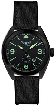 Швейцарские наручные  мужские часы Aviator M.1.10.5.031.7. Коллекция Mig-25 Foxbat