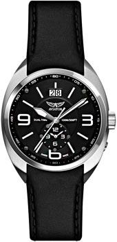 Швейцарские наручные  мужские часы Aviator M.1.14.0.086.4. Коллекция Mig-21 Fishbed
