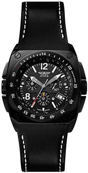 Швейцарские наручные  мужские часы Aviator M.2.04.5.009.4. Коллекция Mig-29 Cockpit Chrono