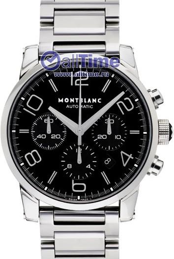 Мужские наручные швейцарские часы в коллекции Timewalker Montblanc