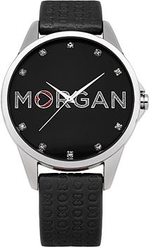 fashion наручные  женские часы Morgan M1107BBR. Коллекция M_Crystal