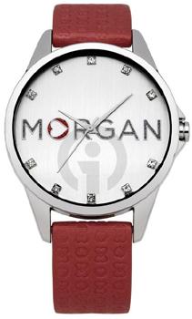 fashion наручные  женские часы Morgan M1107R. Коллекция M_Crystal