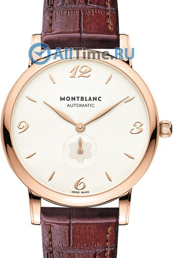 Мужские наручные золотые часы в коллекции Star Montblanc