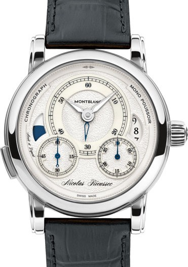 Мужские наручные швейцарские часы в коллекции Nicolas Rieussec Montblanc
