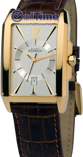 Мужские наручные швейцарские часы в коллекции Kharga Michel Herbelin
