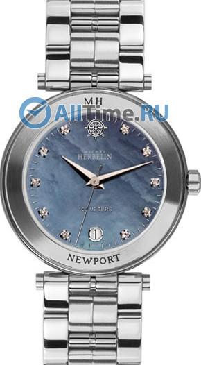Женские наручные швейцарские часы в коллекции Newport Michel Herbelin