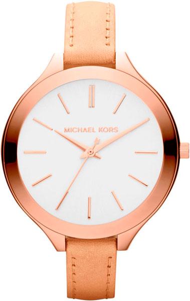 Женские наручные fashion часы в коллекции Ladies Leather Michael Kors - Sale