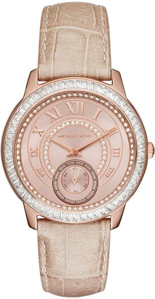 Женские наручные fashion часы в коллекции Ladies Leather Michael Kors