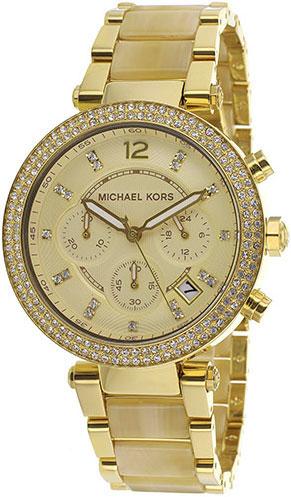 Женские наручные fashion часы в коллекции Ladies Chronos Michael Kors