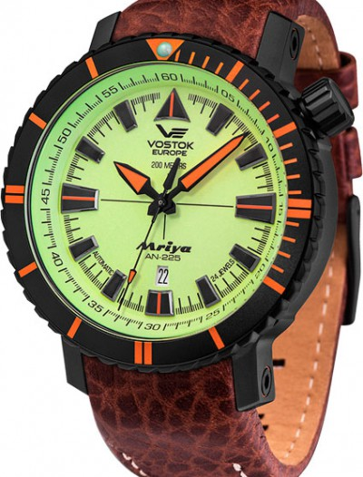 Мужские российские часы в коллекции Mriya Vostok Europe