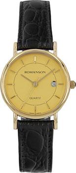 Наручные  женские часы Romanson NL1120SLG(GD). Коллекция Phil