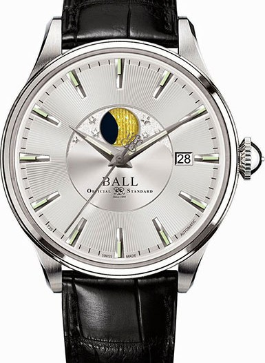 Мужские наручные швейцарские часы в коллекции Trainmaster BALL